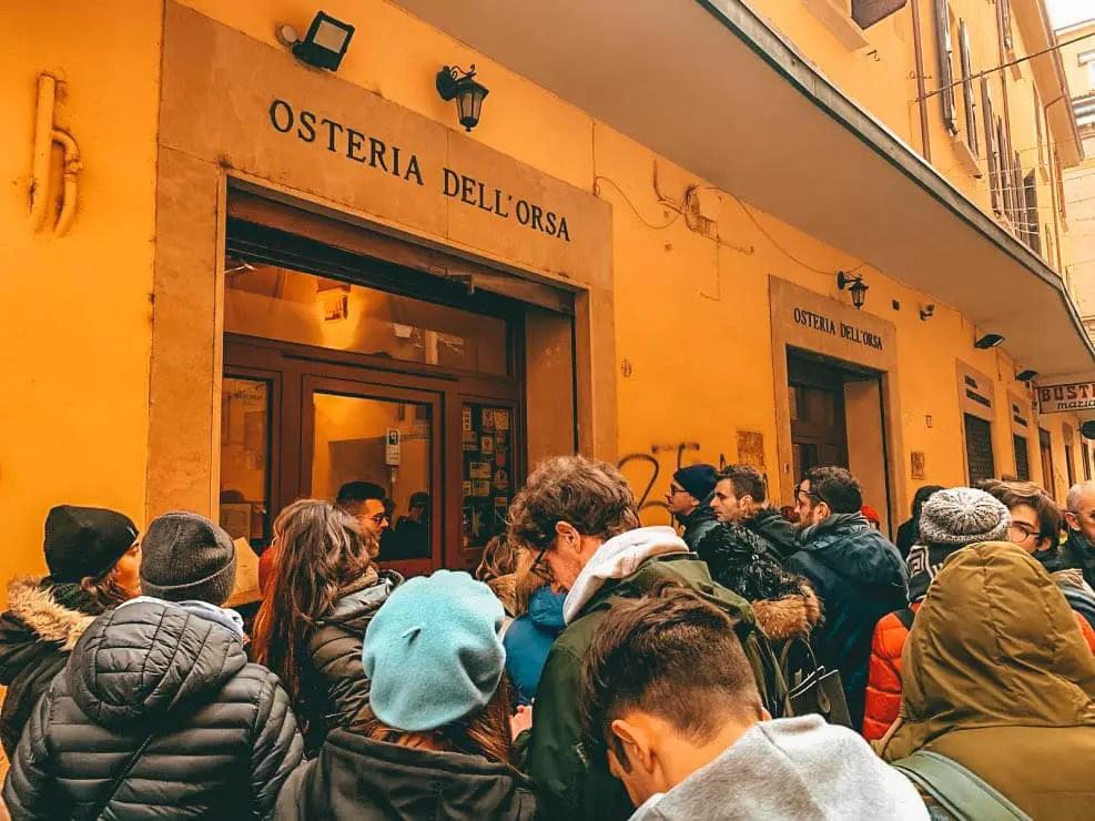 Osteria dell Orsa en Bologna