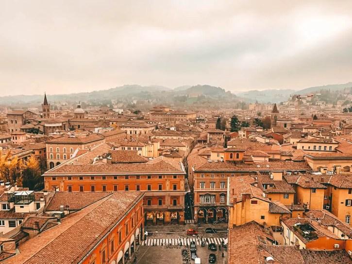 Otra de las vistas desde la Basílica de San Petronio