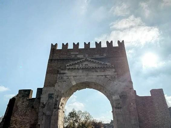 Arco de Augusto de Rímini