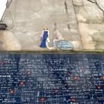 Muro de los te quiero en Montmartre
