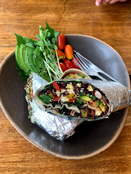 Wild donde comer vegetariano en koh samui