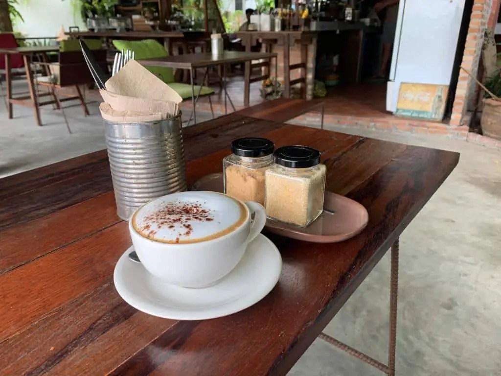 cafés en koh tao