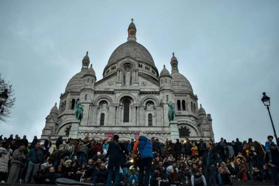 Iglesia del Sagrado Corazón en Montmartre