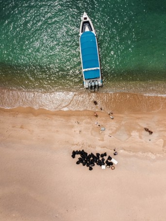 Limpieza de playa en Koh Phangan