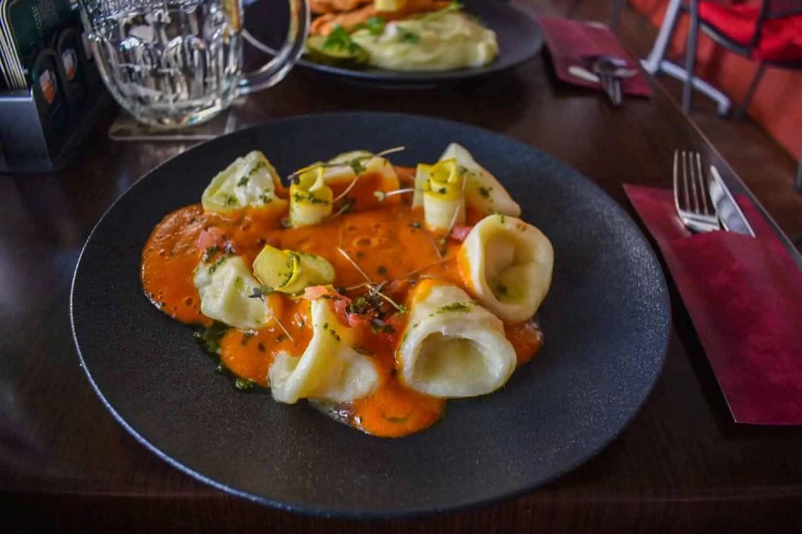 comida italiana en praga
