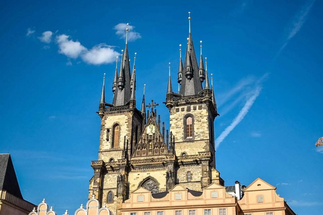 Iglesia de nuestra señora de Tyn en Praga