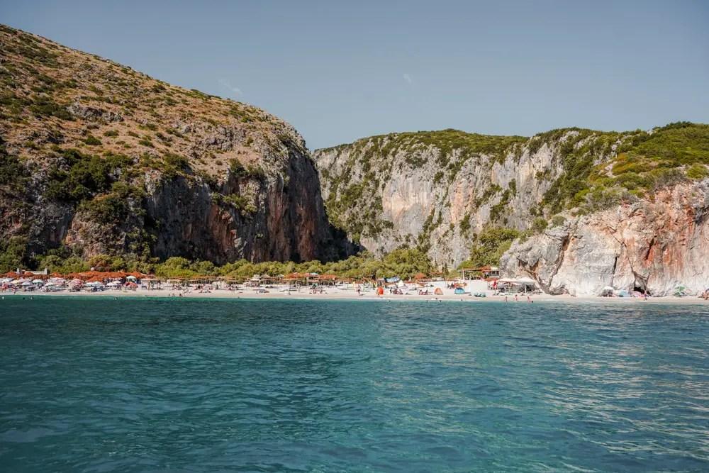 gjipe una de las mejores playas de albania