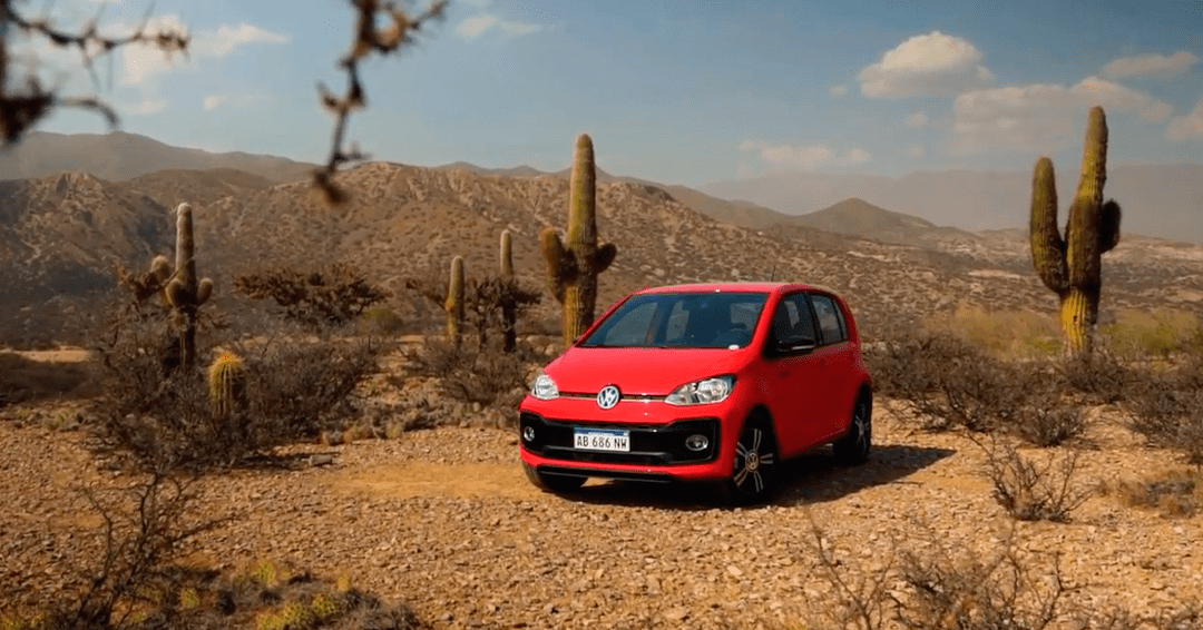 Test drive del Volkswagen up! Pepper TSI