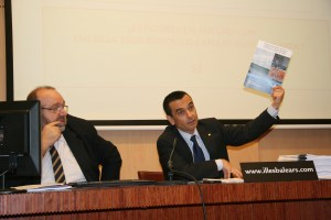Un momento de la presentación del plan de energías renovables en Baleares
