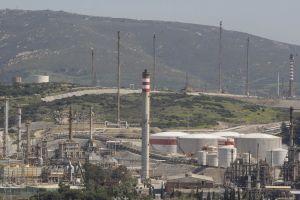 Vista general del área industrial del Campo de Gibraltar.