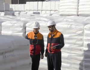 Dos empleados de la compañía en Puertollano.