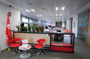 Interior de las oficinas de E.On España.