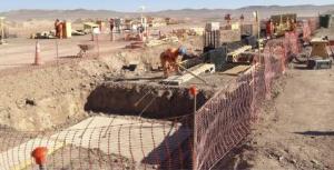 Obras en Atacama.