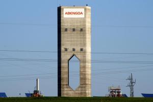 ureka, planta de demostración de torre de alta temperatura, emplazada en la plataforma Solúcar, en Sanlúcar la Mayor, Sevilla.