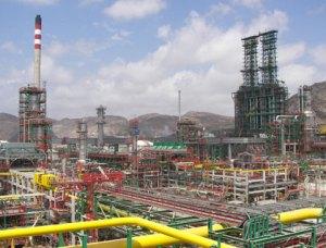 Instalaciones de Repsol en Cartagena.