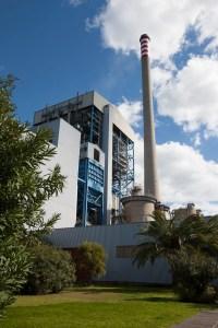 Imagen de la central térmica de Los Barrios.