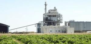 Una planta de biomasa de Enel Green Power.