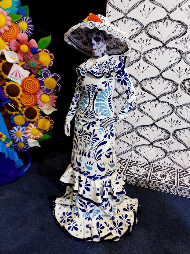 artesanías, artesanías vivientes, personajes, body paint, maquillaje, artesanías méxico