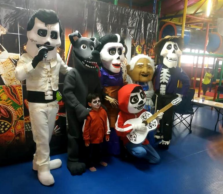 show de halloween, show de día de muertos, show de halloween en méxico, show de día de muertos en méxico