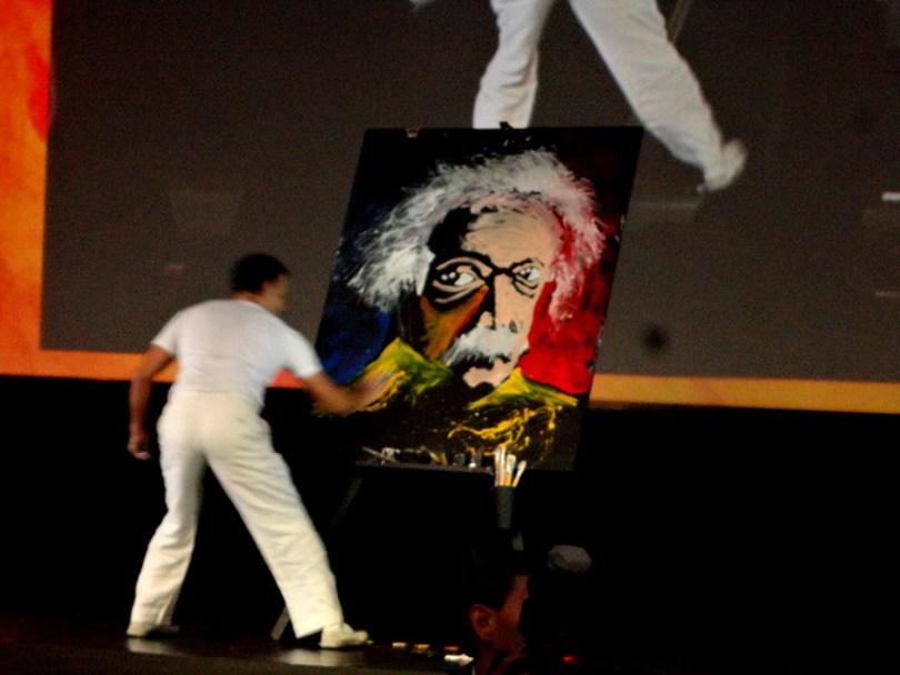 espectáculo de pintura rápida, show de pintura rápida, fast paint, fast paint méxico, fast paint show, pintura rápida méxico