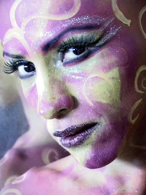 maquillaje profesional, maquillaje circo del sol, maquillaje profesional méxico, maquillaje circo del sol méxico