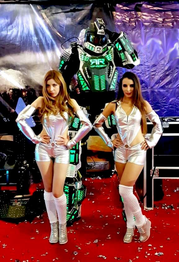 robot leds, robots leds, espectáculo leds, espectáculos leds, show leds