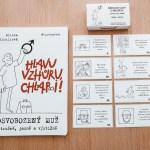Sada kniha + karty promuže
