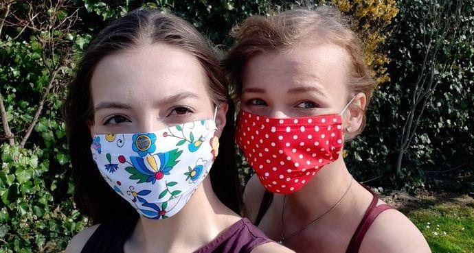 Sofia Klebanová a Kristína Kostičová