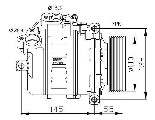 Compresor-de-Aire-Acondicionado-de-BMW-series-1E82E88-3E90E91E92E93-Z-E89-DENSO