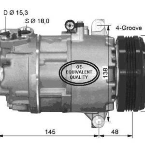 Compresor de Aire Acondicionado BMW 320d-318d (e46) 325tds X3 Z4