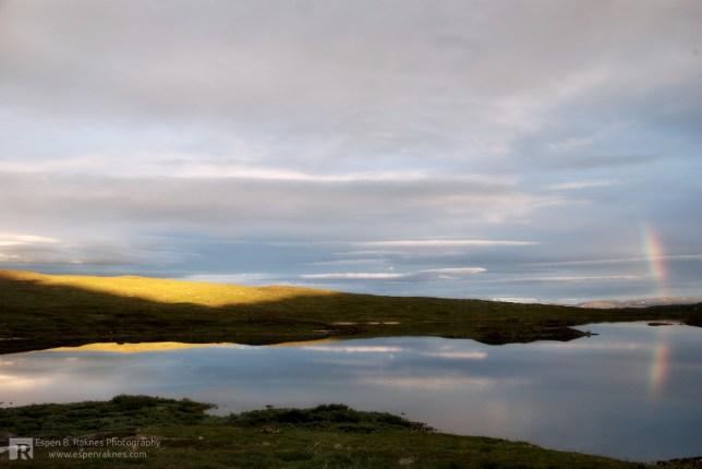 Evening at Jengelvatnet