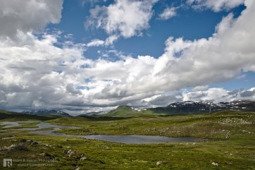Great view towards Kjukkelfjellet