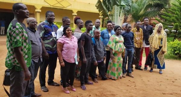 Photo d'ensemble des participants