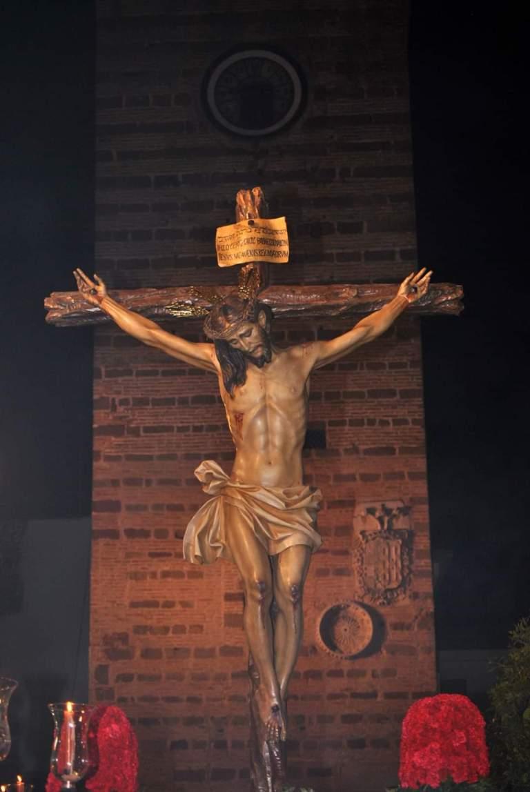Imagen del Vía Crucis del Santísimo Cristo de la Providencia del año 2019