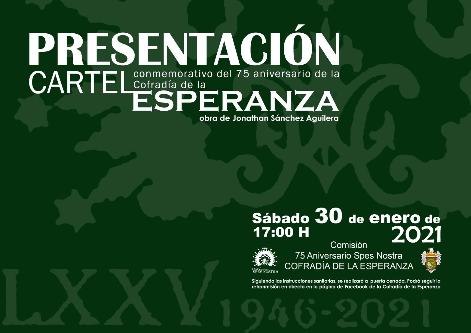 Presentación del cartel del 75 aniversario fundacional