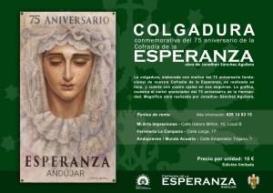 COLGADURA CONMEMORATIVA «LXXV SPES NOSTRA»