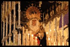 Paso de palio de Nuestra Señora de las Lágrimas (Baeza)