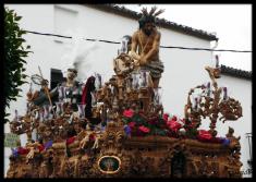 Paso de misterio del Santísimo Cristo de la Columna (Baeza)
