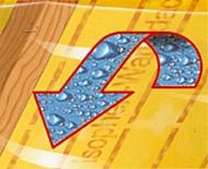 guaine per tetti - La traspirabilità, il valore µ (che si legge mù) e il valore Sd 15