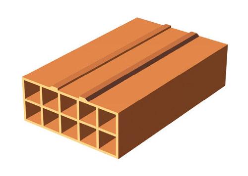 costruire in laterizio - Parametri di progetto della parete con laterizio forato, calcolare la trasmittanza 30