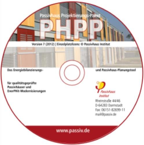 PHPP versione 7 (2012), software per la progettazione di case passive