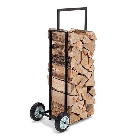 porta legna su ruote