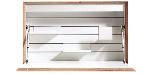 FLATBOX wall-mounting secretary desk design Michael Hilger-02