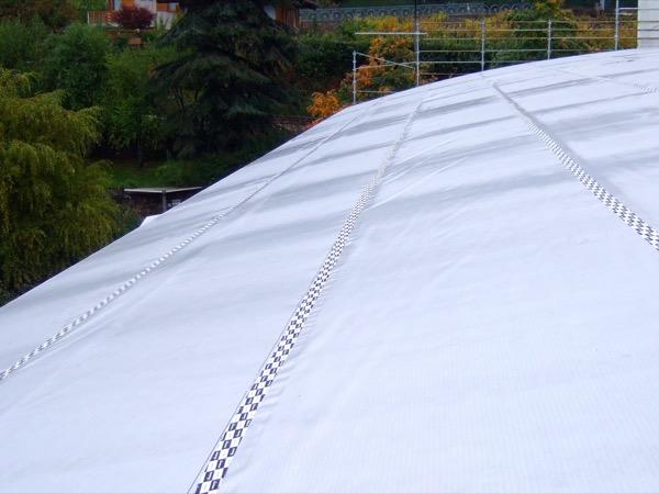 tenuta all'aria tetto - Foto posa copertura metallica – Zona Climatica E – GG 2784 – Lavis (TN) 18