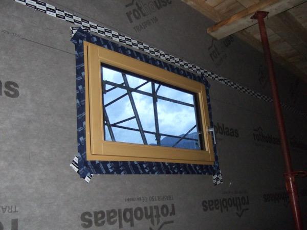 Costruire in legno - Posa serramenti in struttura in x-lam – Zona Climatica E – GG 2784 – Lavis (TN) 26