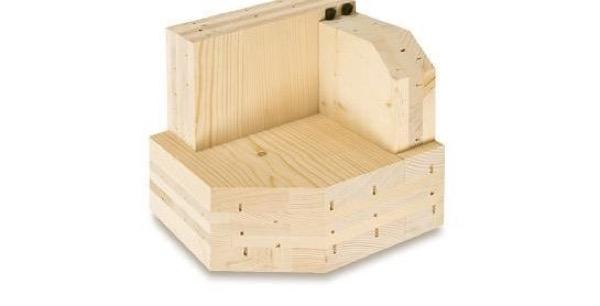 Costruire in legno - Migrazione del vapore e tenuta all'aria in strutture x-lam 20