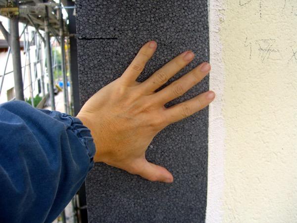isolamento esterno a cappotto - La grafite contenuta nel pannello in EPS grigio 6