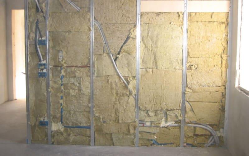 isolamento lato interno - Lana di roccia o lana di vetro come materiale per isolamento termico o acustico, no grazie 8
