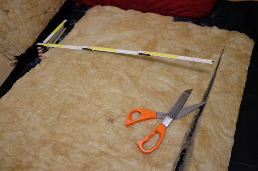 isolamento lato interno - Lana di roccia o lana di vetro come materiale per isolamento termico o acustico, no grazie 32