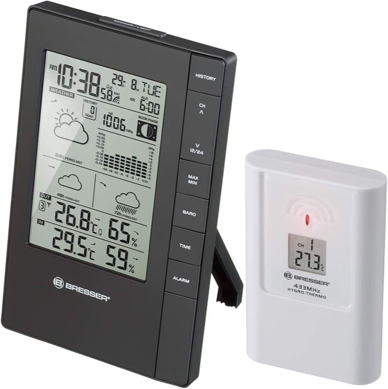 regolazione temperature ambiente - Termometro igrometro termoigrometro videocamera videocitofono per la casa 10